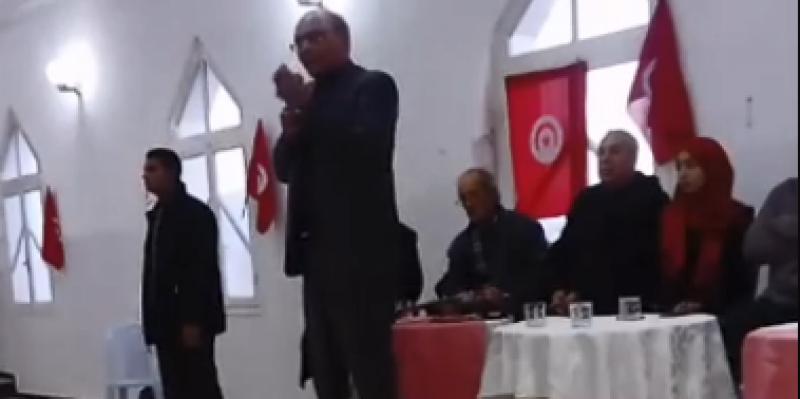 المرزوقي: 'توافق النهضة والنداء صفقة سياسية اضمحلت'