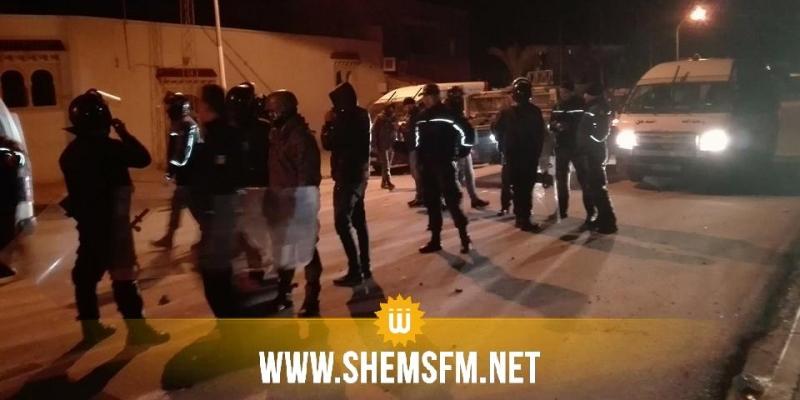عاجل: تجدد المواجهات في سليانة