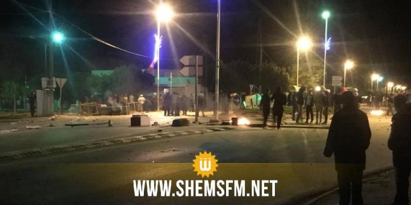 Bou Arada : le poste de la Garde nationale attaqué par les manifestants