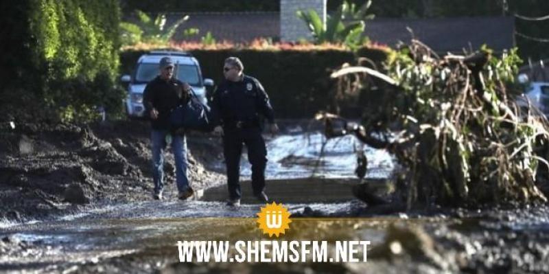 الولايات المتحدة: ارتفاع عدد قتلى الانهيارات الطينية في كاليفورنيا