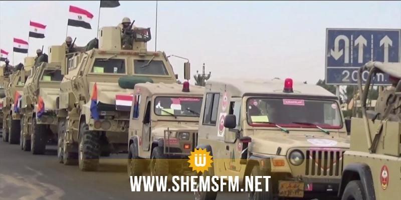 سيناء.. مقتل 10 إرهابيين واعتقال 400 آخرين بينهم أجانب