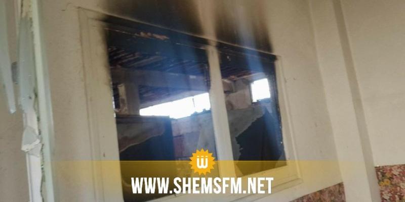 Un incendie dans un internat de jeunes filles à Siliana : les dégâts en photos