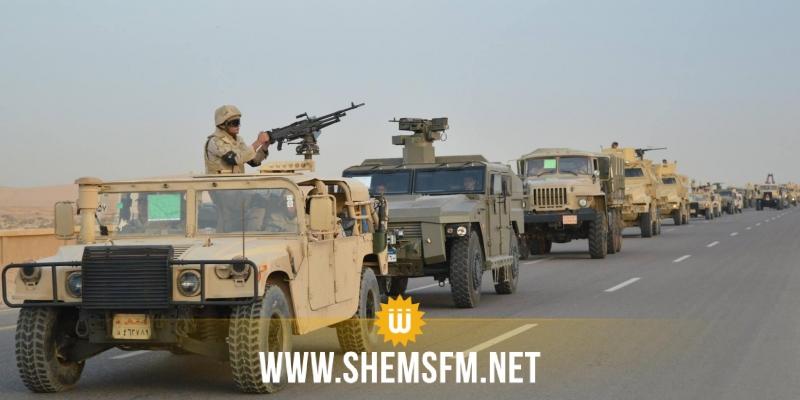 Egypte : dix terroristes tués dans une opération militaire