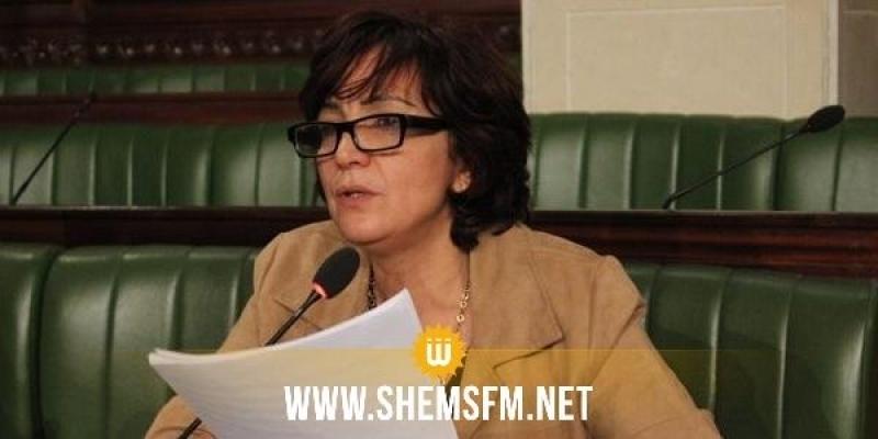 سامية عبّو: 'غياب نواب الإئتلاف الحاكم وراء إسقاط الفصل الوحيـد لمشروع الاتفاق بين تونس وإيطاليا'