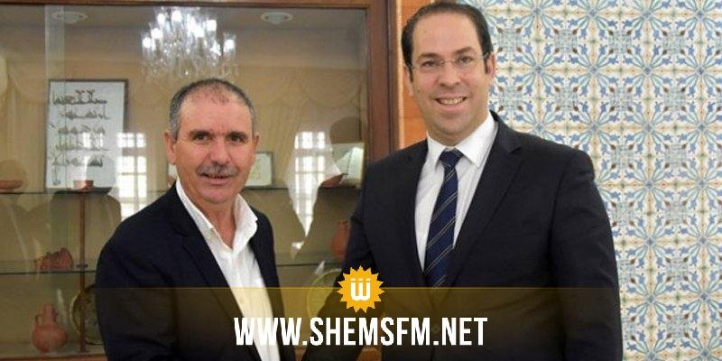 Youssef Chahed rencontre Nourredine Taboubi