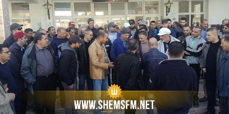 Gafsa : les agents de la SNCFT appellent à la reprise de la ligne 13 reliant Gafsa et Tozeur
