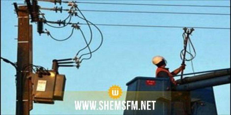 غدا الثلاثاء انقطاع التيار الكهربائي على عدد من مناطق قبلي