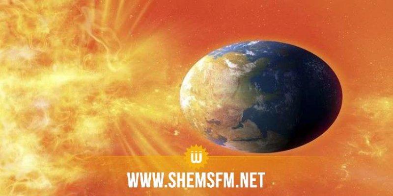عاصفة شمسية ضخمة قد تضرب الأرض غدا الأربعاء