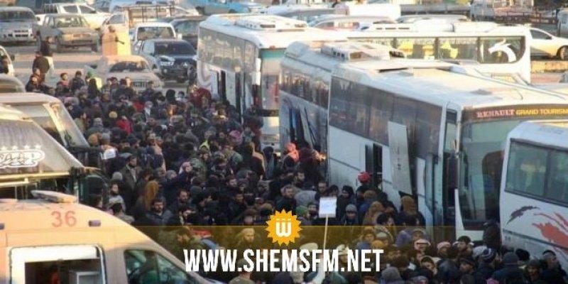 Plus de 10000 syrien évacués de la Ghouta Orientale