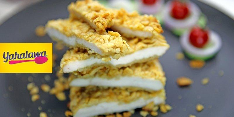 Poulet pané aux chips proposée par Yahalawa.net