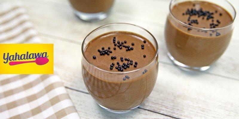 موس بالشوكولاتة السوداء