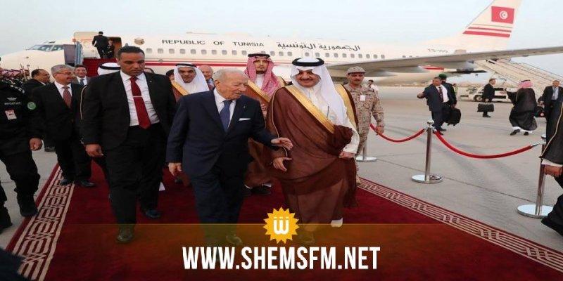 BCE arrive en Arabie Saoudite pour participer au sommet arabe