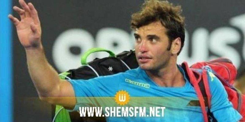 Malek Jaziri éliminé du tournoi de Marrakech