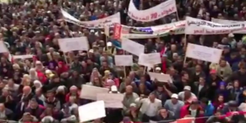 (فيديو) سامي الطاهري في اجتماع شعبي ضخم في بنزرت