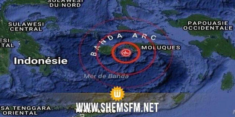 زلزال قوته 5.9 درجة يهز مجموعة من الجزر قبالة اندونيسيا