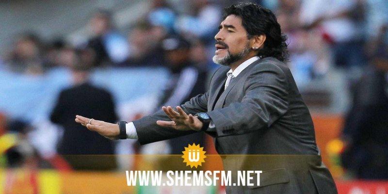 مارادونا رئيسا لمجلس إدارة نادي 'دينامو بريست'