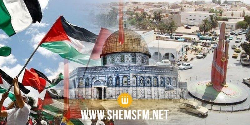 مدنين: مسيرة للمعلمين مساندة للقضية الفلسطينية