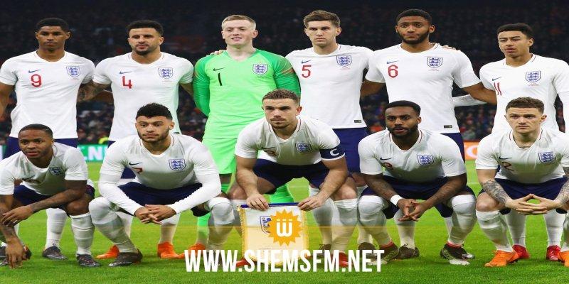 Mondial 2018 : La liste des 23 de l'Angleterre, future adversaire de la Tunisie