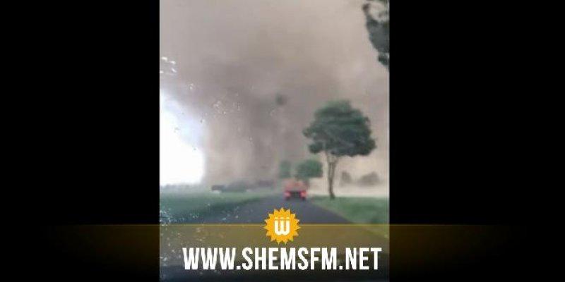 Allemagne: Une tornade fait deux blessés et dévaste des dizaines de maisons