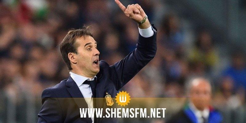 الاتحاد الاسباني لكرة القدم يقيل مدرب المنتخب 24 ساعة قبل إفتتاح المونديال