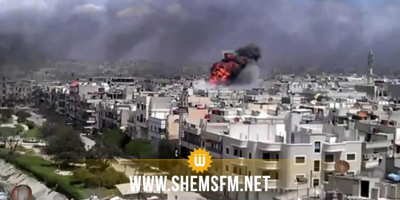Israël bombarde un aéroport militaire Syrien