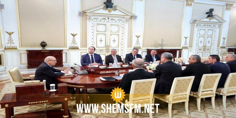 Réunion du Conseil de sécurité nationale