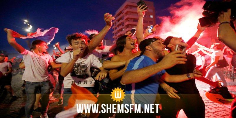 فرنسا:  إصابة 27 مشجعا لكرة القدم في تدافع بسبب الألعاب النارية في نيس