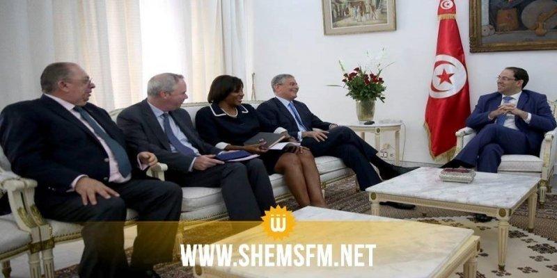 Youssef Chahed reçoit une importante délégation de la Banque Mondiale