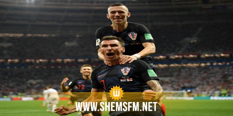كأس العالم: كرواتيا تقهر إنقلترا وتبلغ نهائي المونديال