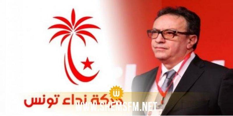 حافظ قائد السبسي يصف بيان الهيئة السياسية 'بالانقلاب'