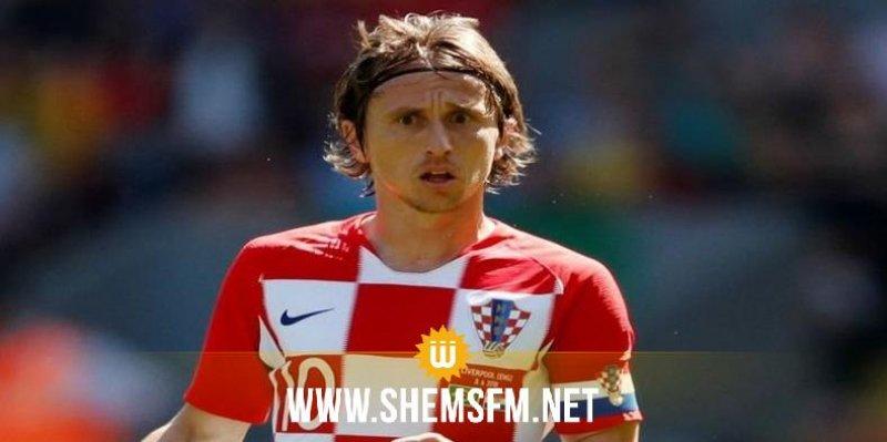 Mondial : Luka Modric élu meilleur joueur