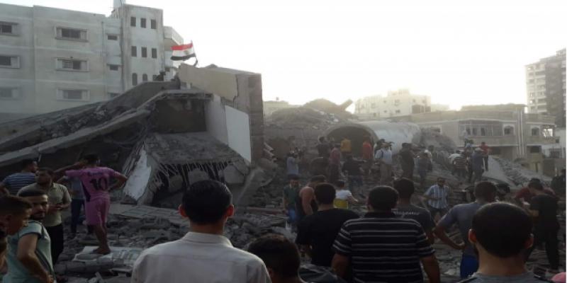 إصابة 18 فلسطينيا في تجدد القصف الإسرائيلي على غزة