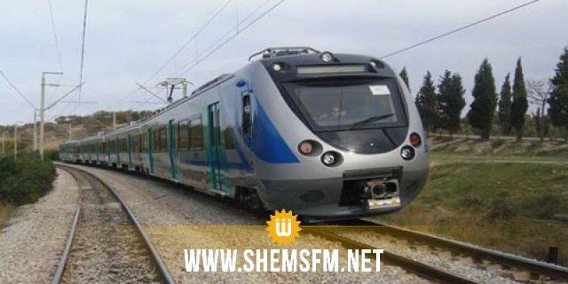 استئناف حركة سير القطارات بين تونس والقلعة الخصبة بصفة عادية