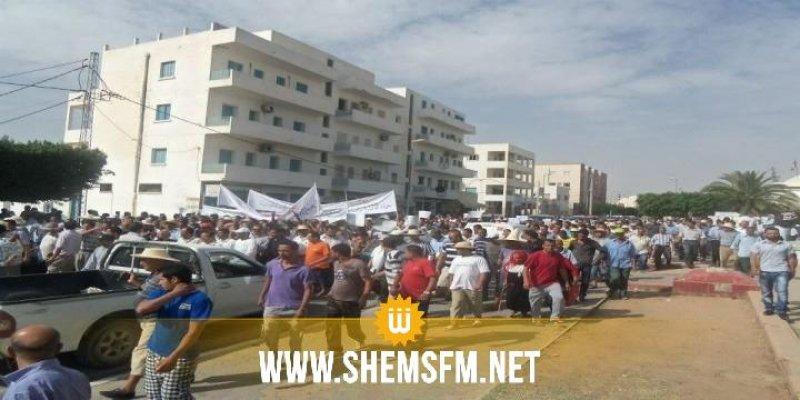 سيدي بوزيد: مسيرة احتجاجية تنديدا بمحتوى تقرير لجنة الحقوق والحريات