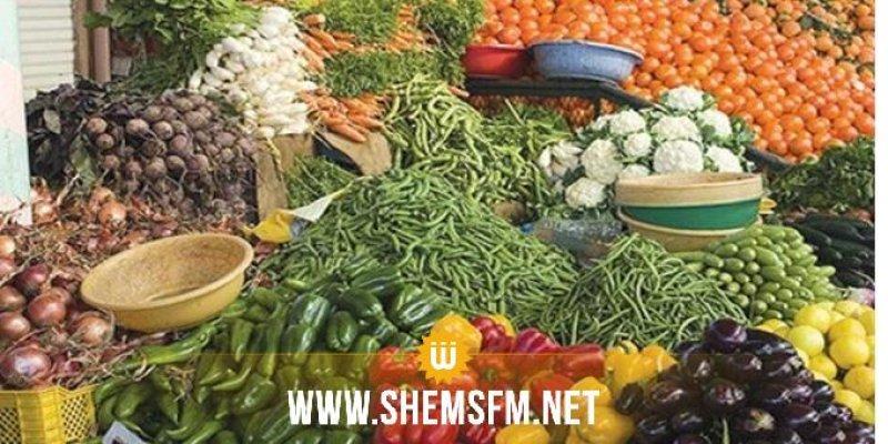 Bizerte : Saisie de 3700 kg de fruits et légumes exposés de manière anarchique