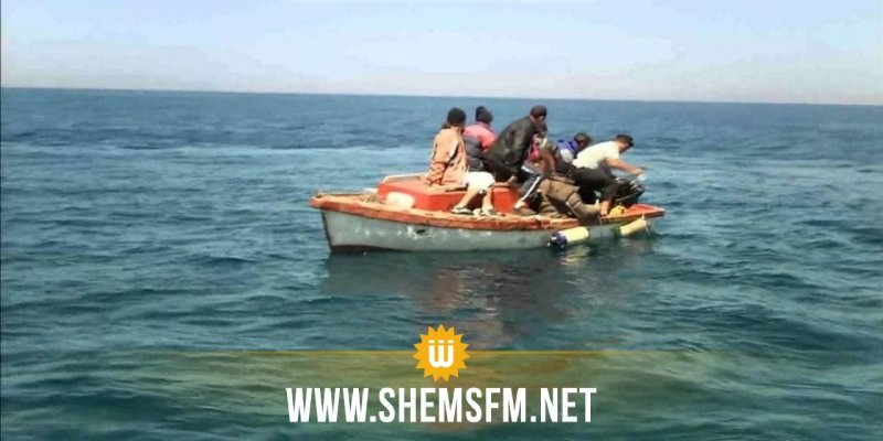 جرجيس: إحباط عمليتين لإجتياز الحدود البحرية بطريقة غير شرعية