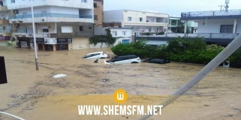 Inondations à Nabeul : 1856 maisons endommagées