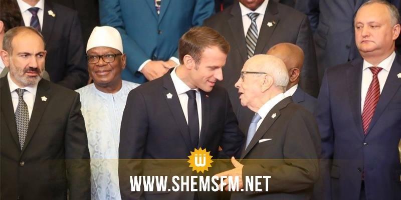Macron réaffirme son soutien total à la Tunisie dans sa lutte contre le terrorisme