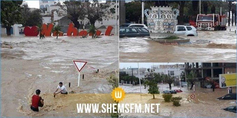 فيضانات نابل: ضبط قائمة أولية بالمتضررين