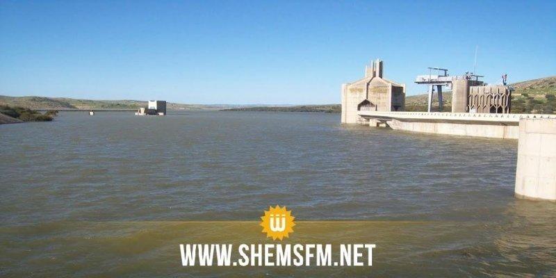 رغم الأمطار وفيضان الأودية: طاقة استيعاب سد سيدي سالم لم تتجاوز الـ 23%
