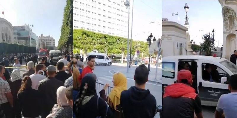 تفجير في شارع الحبيب بورقيبة: جثة آدمية ملقاة وإصابة أمنيين