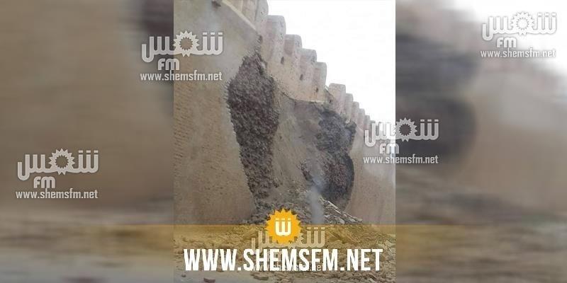 Effondrement d'une partie du mur de la médina de Kairouan après quelques mois de sa restauration (photos)