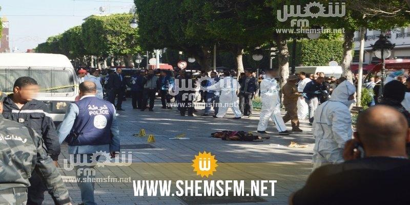 وزير الداخلية:الأبحاث متواصلة بخصوص عملية شارع الحبيب بورقيبة الارهابية