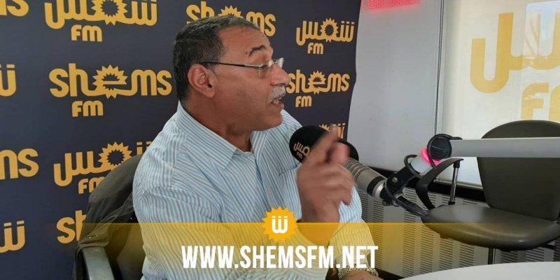 عبد الحميد الجلاصي: 'النهضة ستُصوت ضد مشروع قانون المساواة في الميراث'