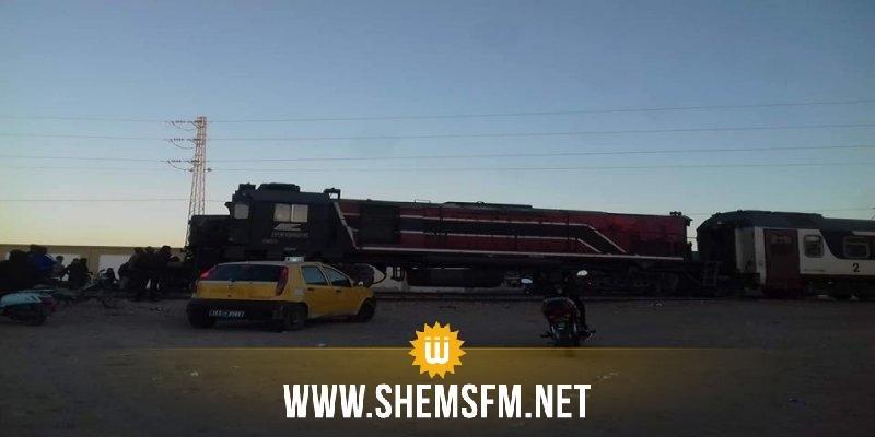 Tozeur : collision entre un train et un louage