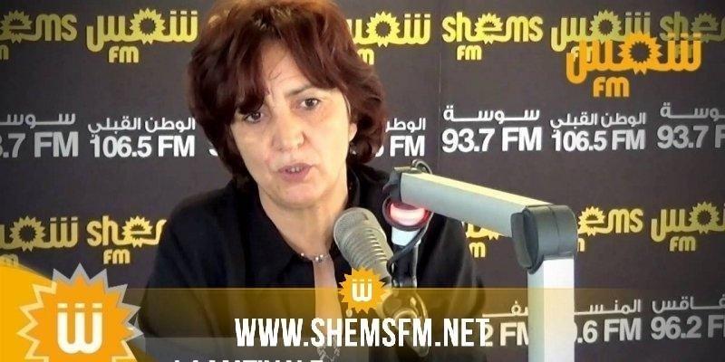 سامية عبو: 'أحزاب تدعي أنها كبيرة لكنها كبيرة بالفساد المشبوه تغاضت عنها هيئة الانتخابات'