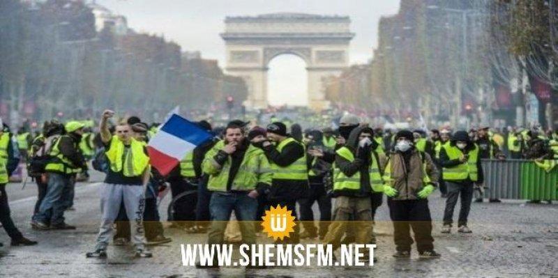 فرنسا ستنشر 89 ألف شرطي وعربات مدرعة استعدادا لاحتجاجات يوم السبت
