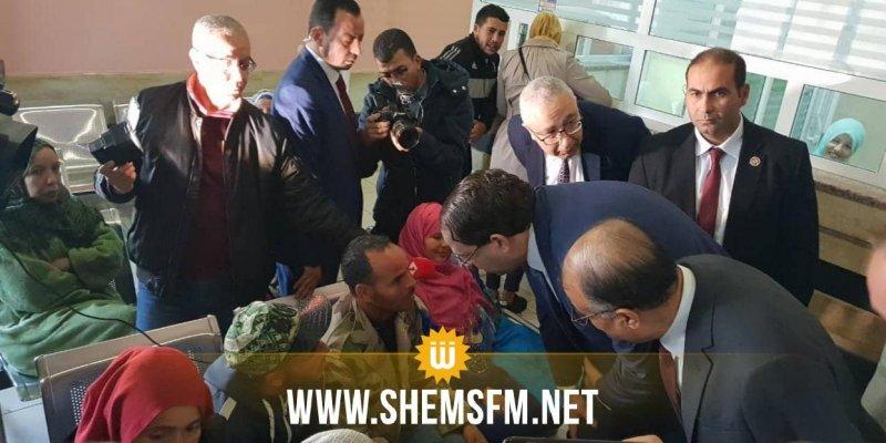 سوسة: الشاهد في زيارة فجئية لمستشفى سهلول (صور)