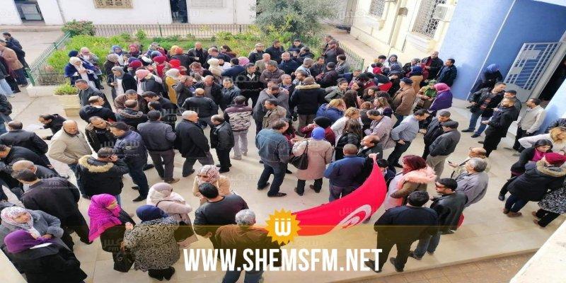 القصرين: اعتصام مفتوح ومسيرة لأساتذة التعليم الثانوي
