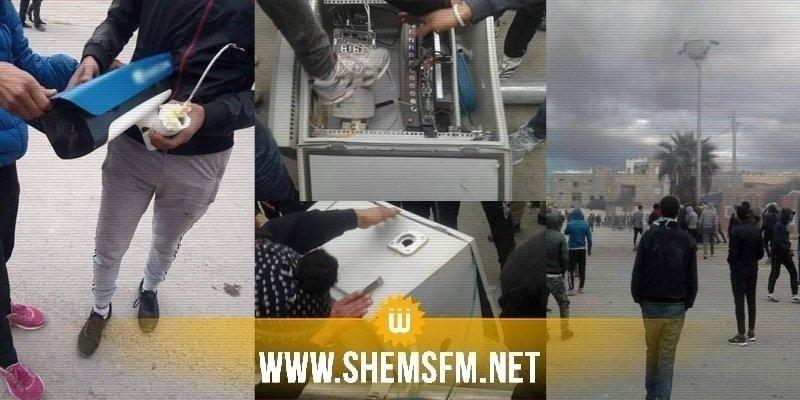 Kasserine : arrestation des impliqués dans la destruction des caméras de surveillance